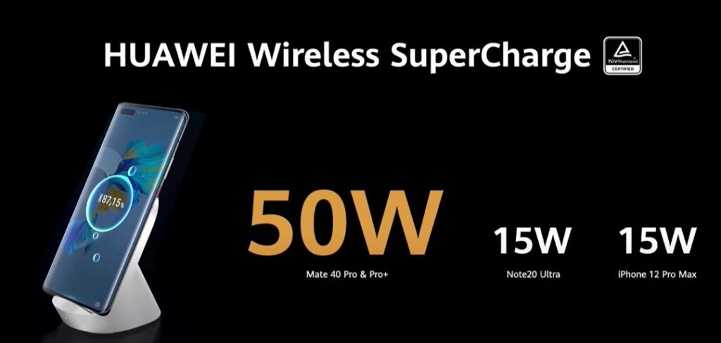 Huawei Mate 40 Pro & Pro_plus - Wireless Super Charge at 50W