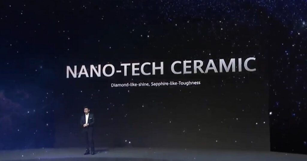 Huawei Mate 40 screen comes with Nano-tech Ceramic coating