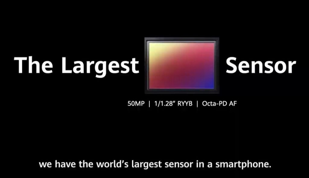 Huawei Mate 40 series smartphones comes with Kirin 9000 chipset largest sensor
