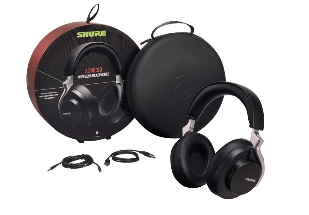 Shure AONIC 50 Headphones - Package