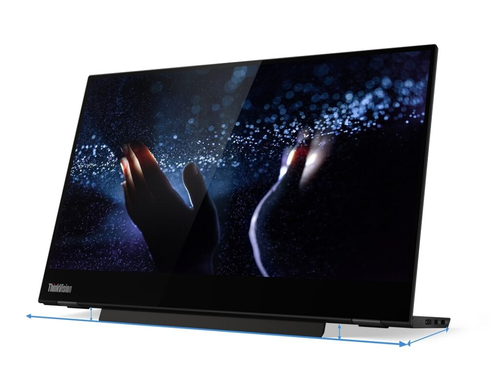 Thinkvision_M14t with touch screen