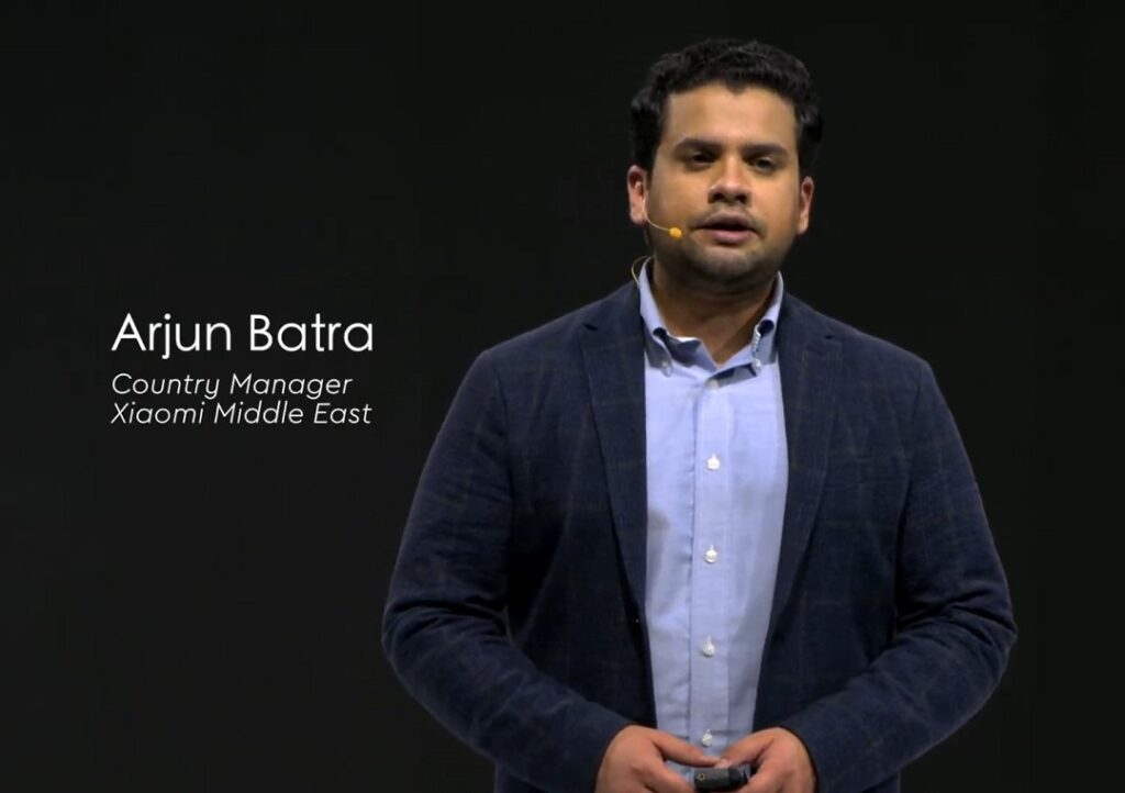 Arjun Batra - Country Manager Xiaomi Middle East