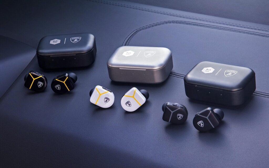 Automobili Lamborghini _ Master &Dynamic MW07 PLUS True Wireless Earphones