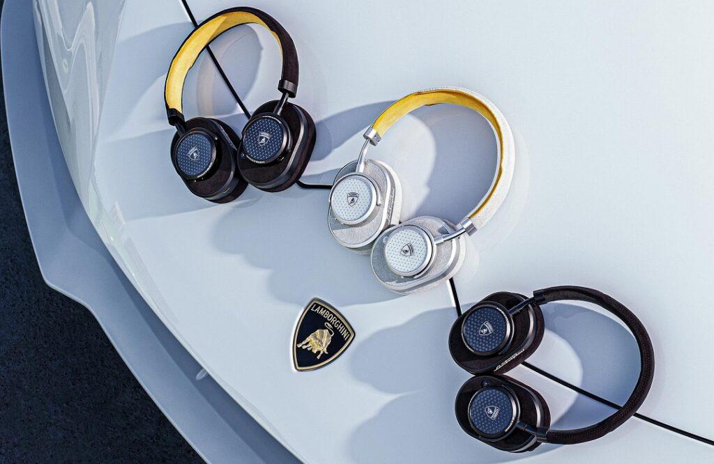 Automobili Lamborghini _ Master & Dynamic MW65 Active Noise-Cancelling Wireless Over-Ear Headphones