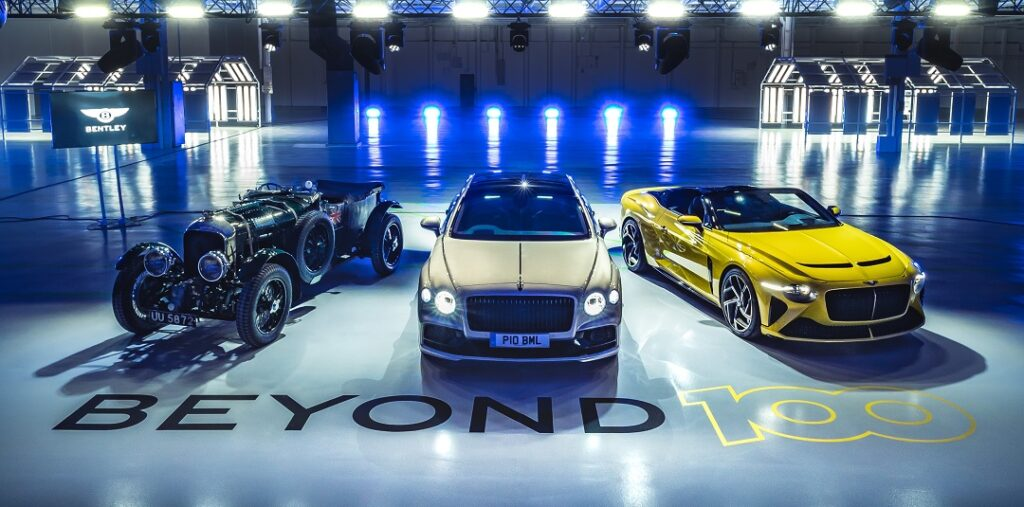 Bentley Motors Outlines Beyond 100 Strategy