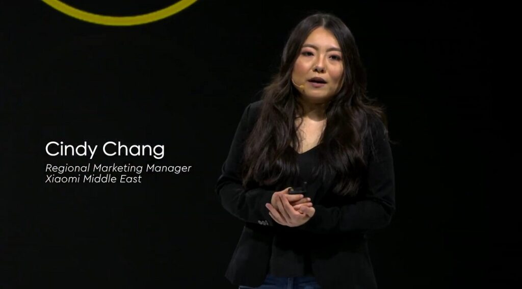 Cindy Chang - Regional Marketing Manager - Xiaomi Middle East