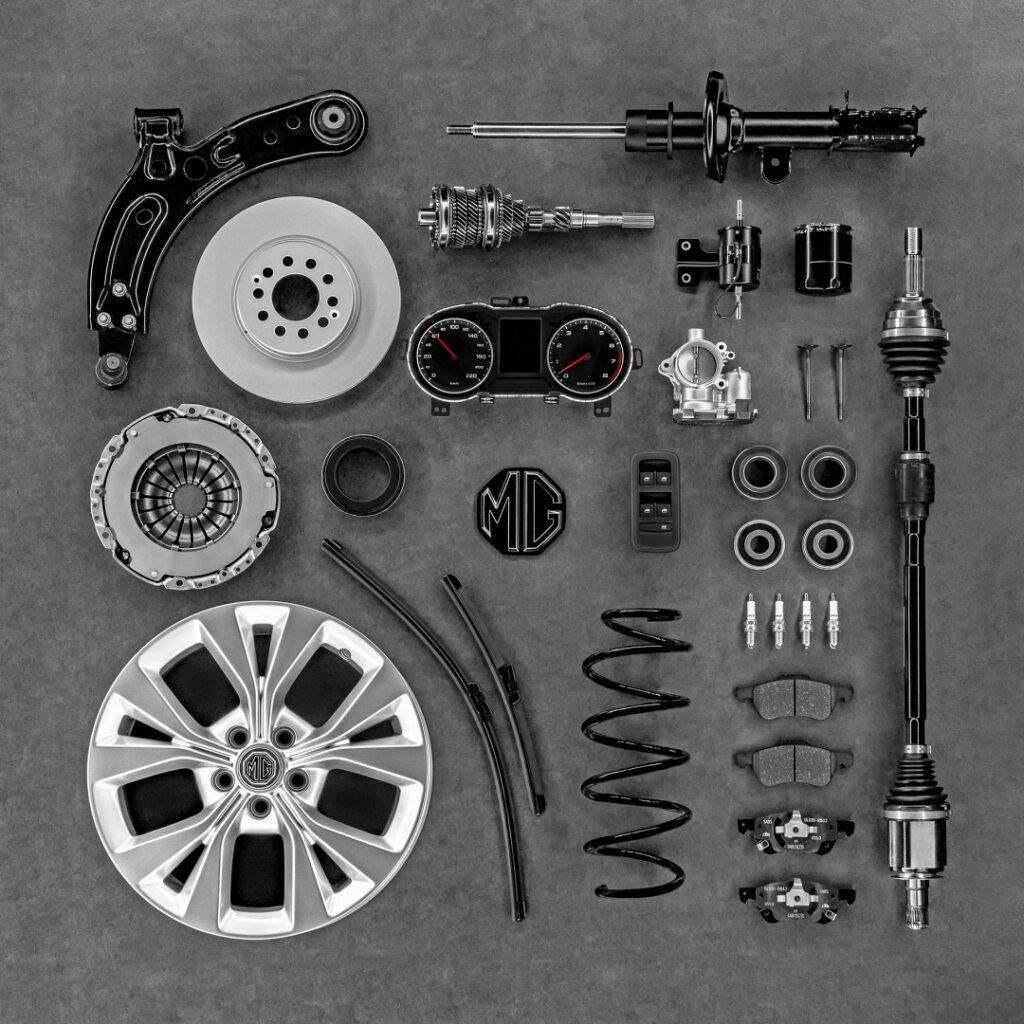 Genuine Parts from MG