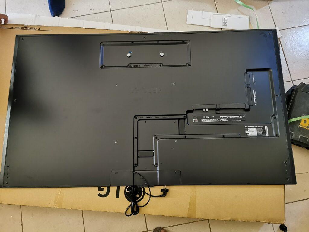 LG WEB-OS-OLED TV 65 - Back Panel