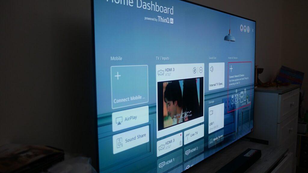 LG WEB-OS-OLED TV 65 - Sleek OLED Panel