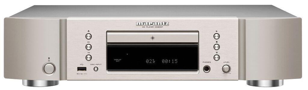 Marantz_CD6007- CD Player- Silver