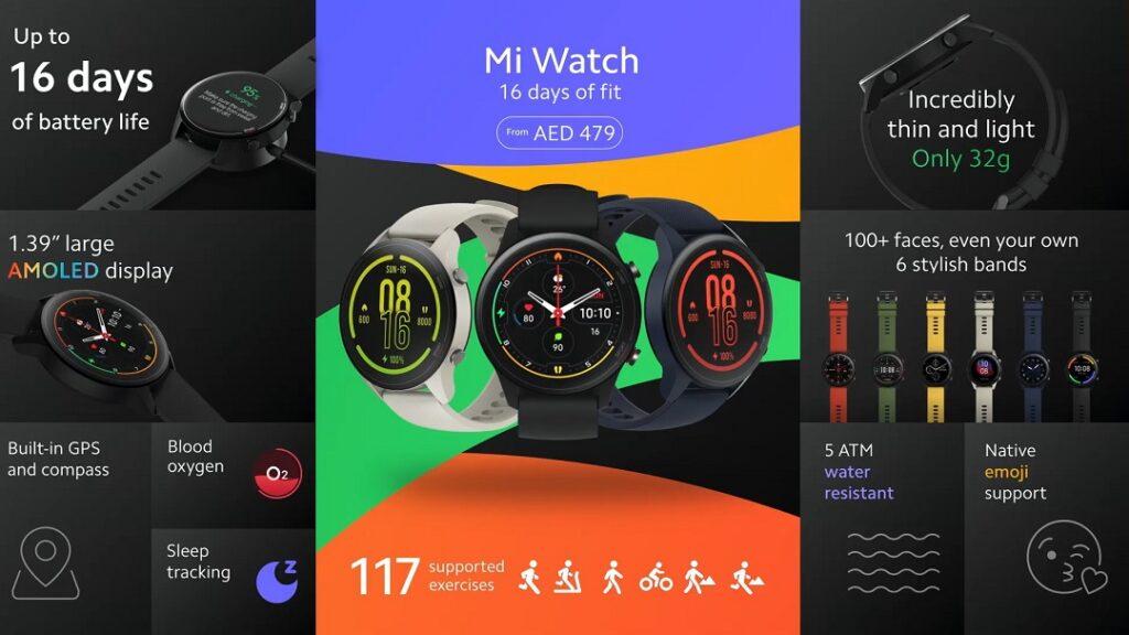 Mi Watch details and Price