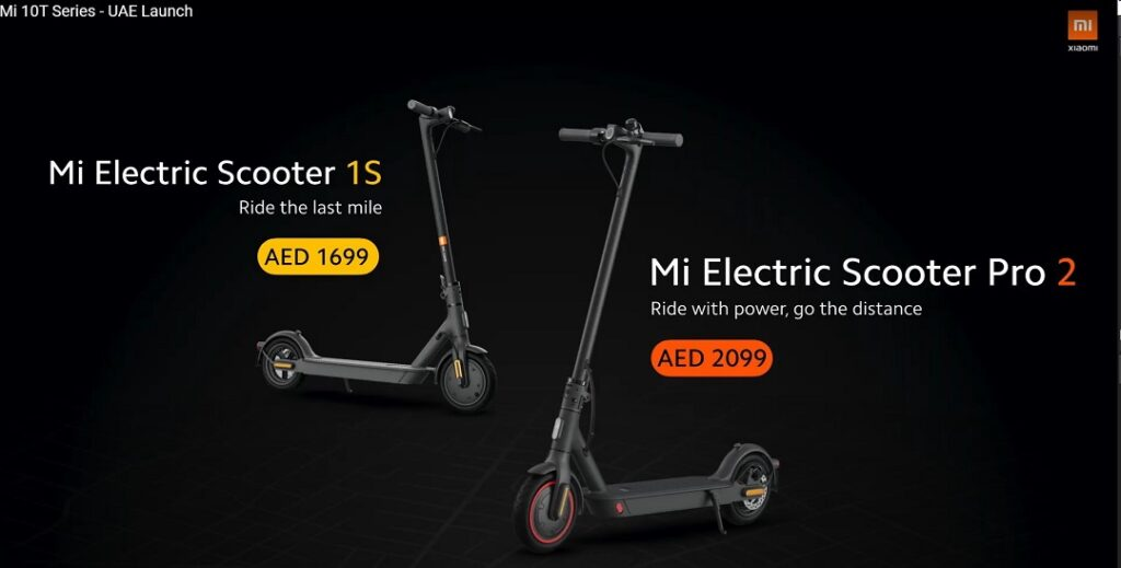 New Mi Electric Scooters launched for Middle East Market