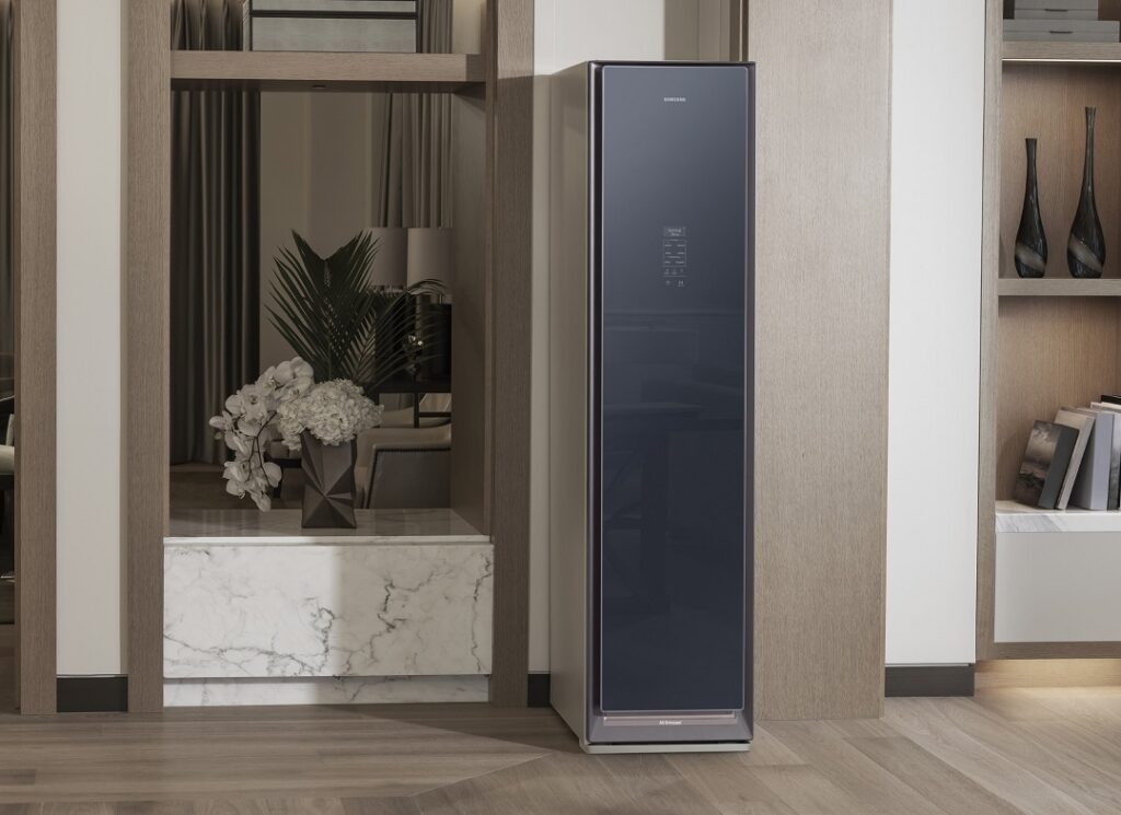 Samsung AirDresser can be placed anywhere in the house