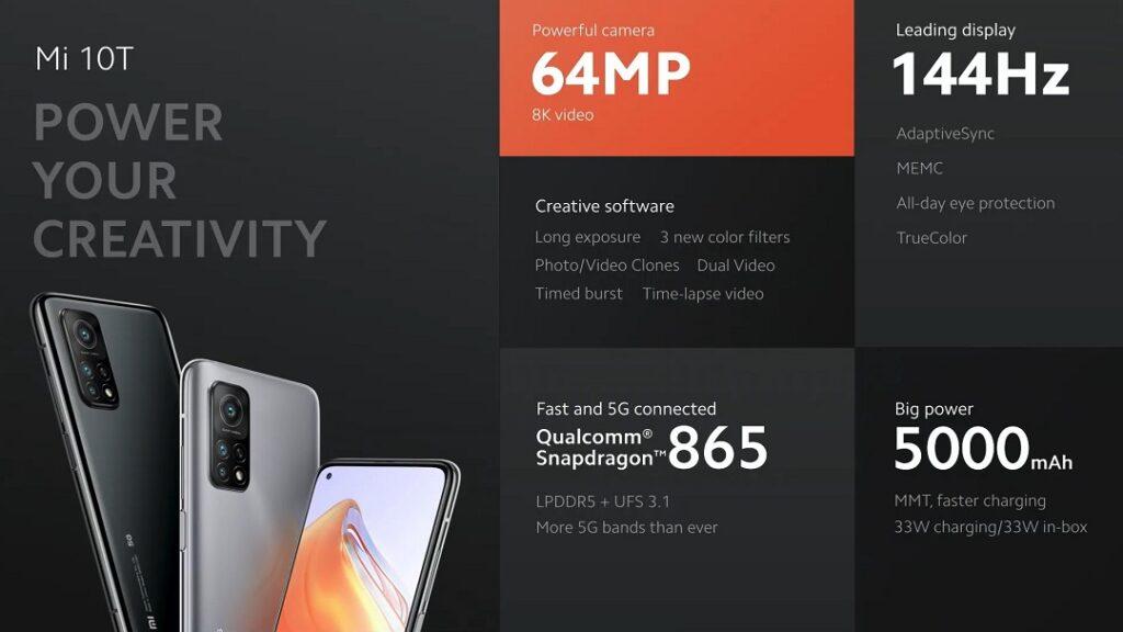 Xiaomi's Mi10T - Details