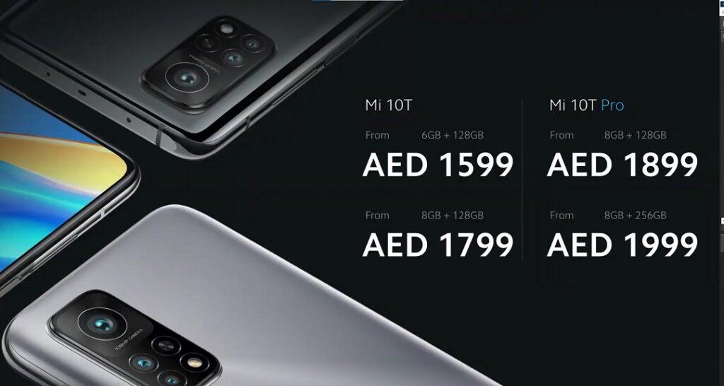 Xiaomi's Mi10T & Mi 10T Pro - Prices