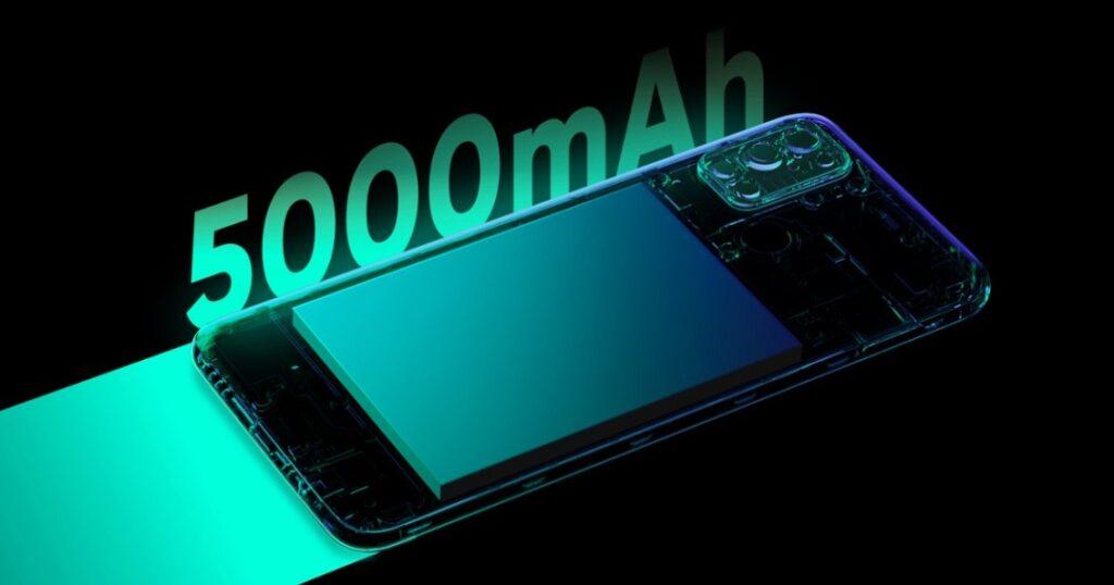 realme 7i phone Battery
