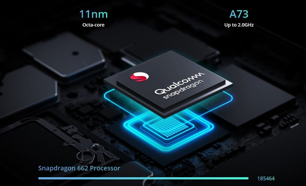 realme 7i phone Qualcomm-Snapdragon 662 Processor