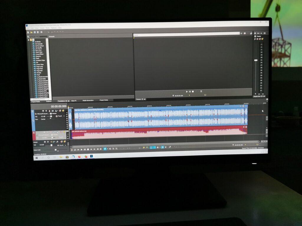 BenQ GW2480T Monitor -Video Editing