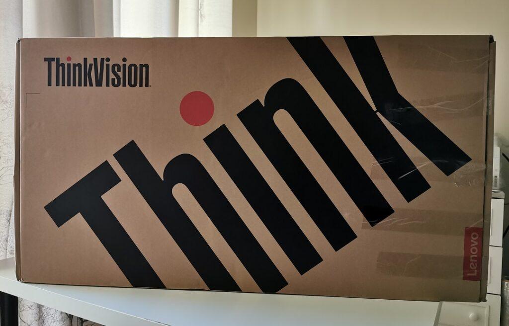 Lenovo ThinkVision T34W-20 Monitor- Box