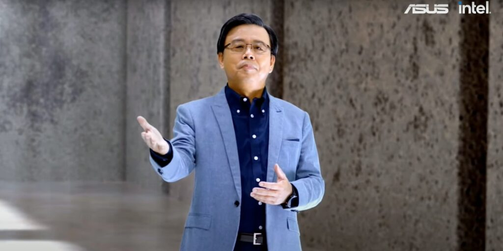 ASUS co-CEO Samson Hu today announced the latest lineup of laptops, displays and entertainment solutions at the Be Ahead virtual launch event during CES 2021
