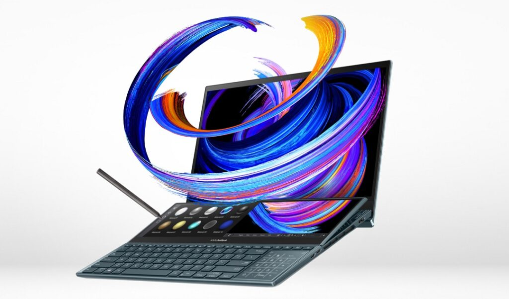Asus ZenBook Pro Duo 15 OLED - Model UX582