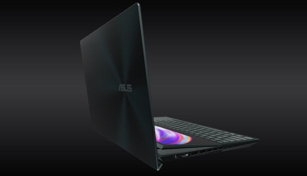 Asus ZenBook Pro Duo 15 OLED - Model UX582- Left Side View
