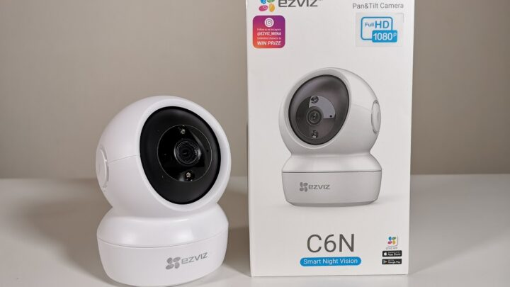 Review of EZVIZ C6N Smart Night Vision Indoor Wireless IP based Camera in the UAE