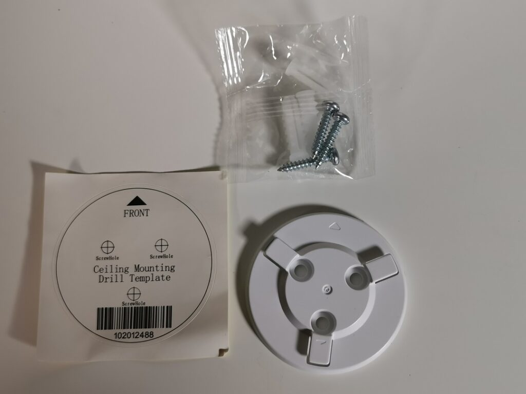 EZVIZ-C6N IP Camera - Screws, Plastic Plugs & Diagram sticker