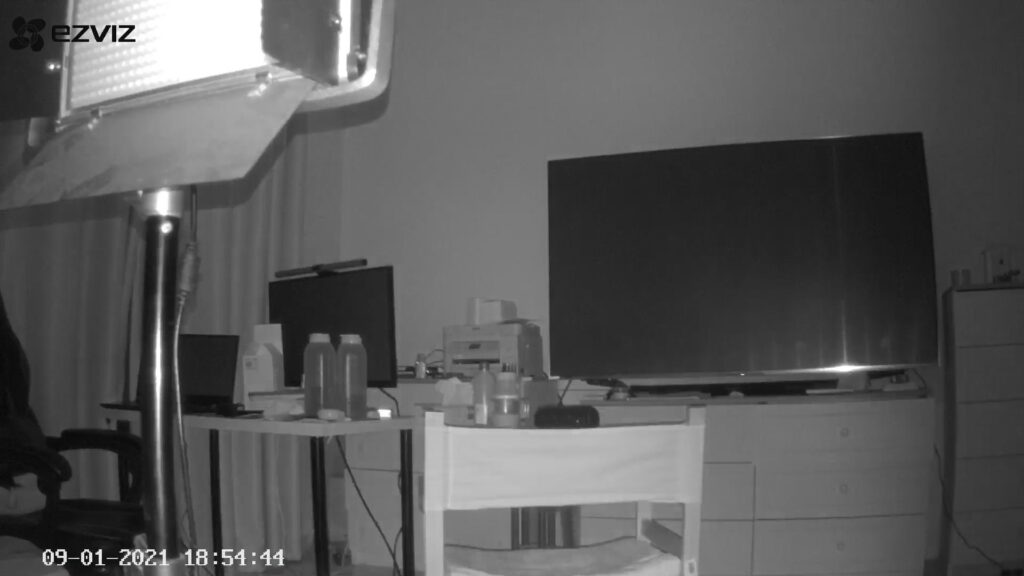 EZVIZ- Camera Capture-Infra-Red