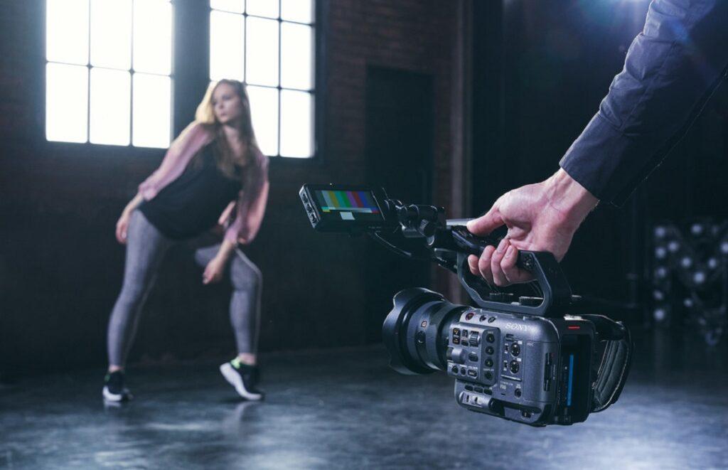 Sony FX6 full-frame 4K camera- Low angle shots