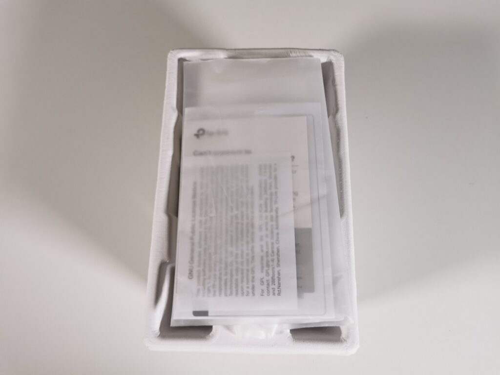 Tp-link AX1800 -Model_RE605X -Inside Box