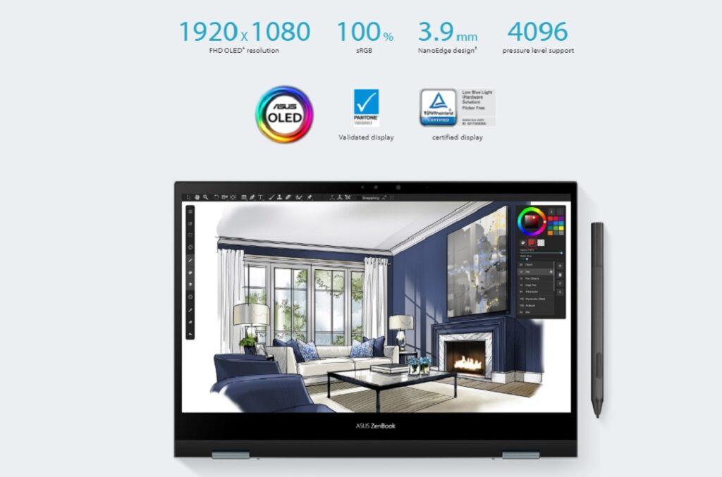 ASUS ZenBook Flip 13 OLED-UX363- Resolution