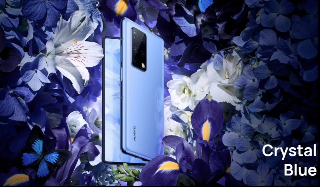 HUAWEI Mate X2-Color-Crystal Blue