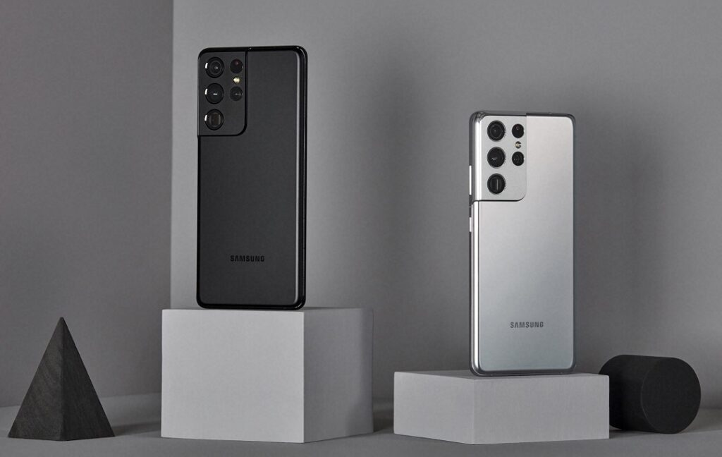 Samsung Galaxy S21Ultra- Phantom Black & Phantom Silver