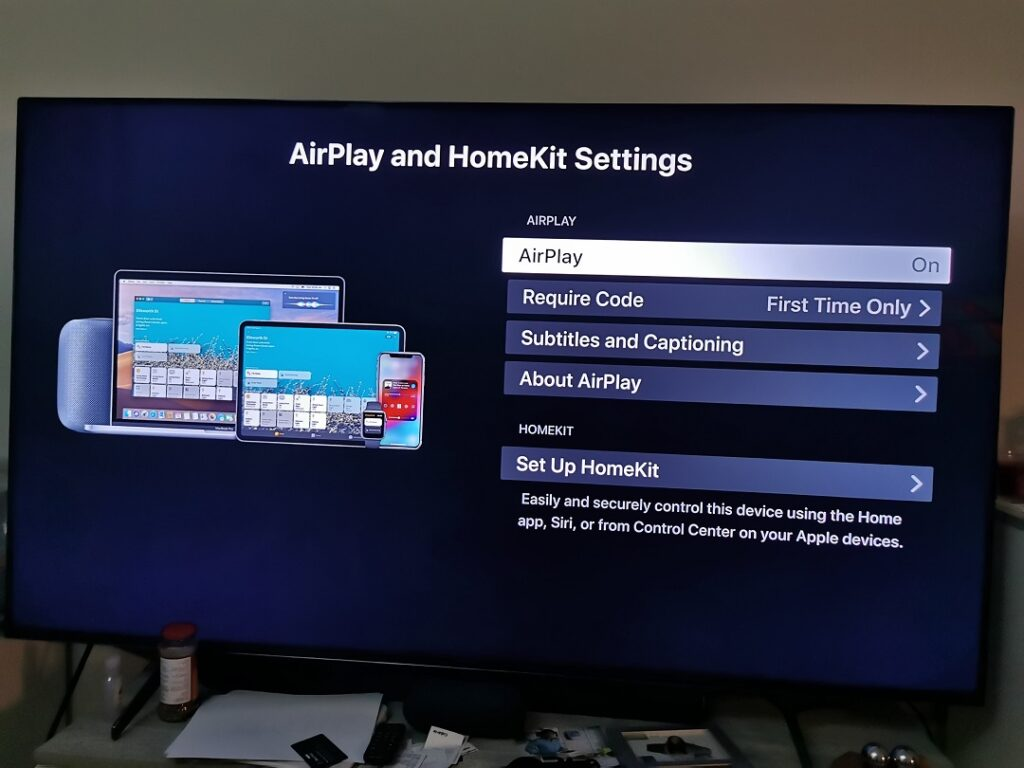 Sony BRAVIA KD-75X9500H - Airplay