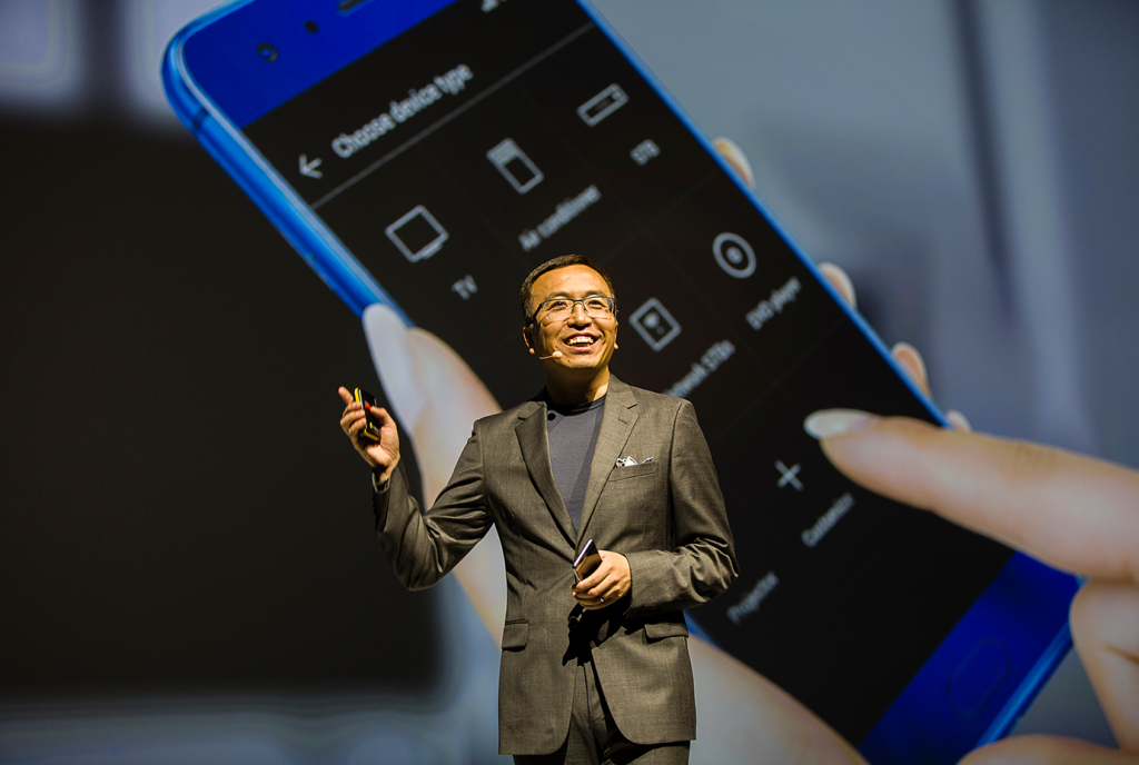 George Zhao, President of Honor - Honor 9