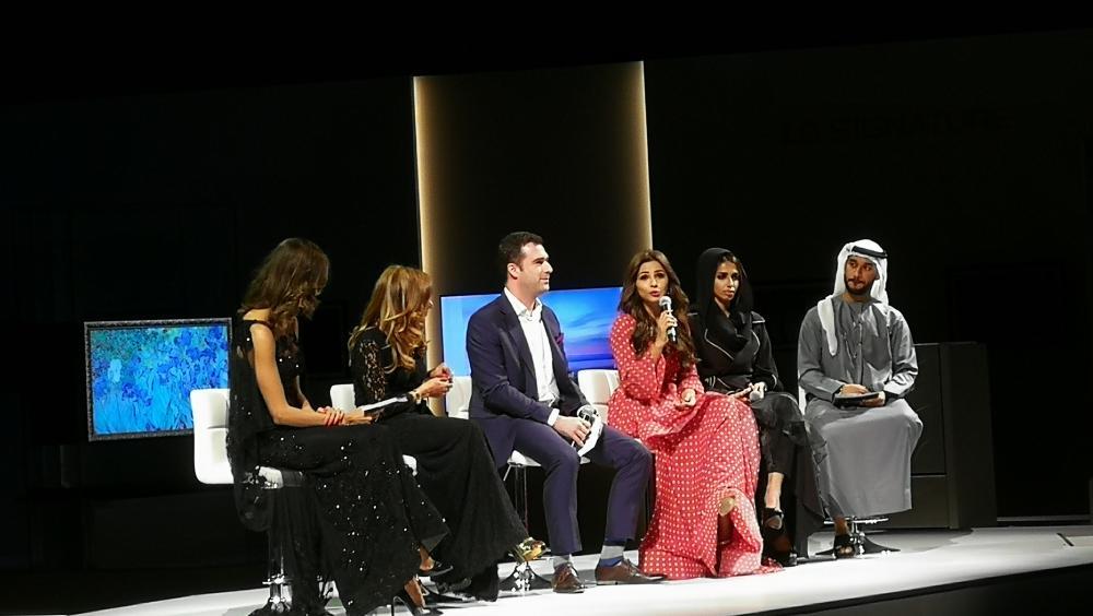 Celebrities at LG Signature event