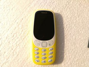 HMD Global's Nokia 3310 - front view