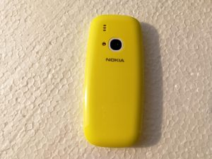 HMD Global's Nokia 3310 - back