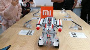 Xiaomi Robot display in the new Showroom