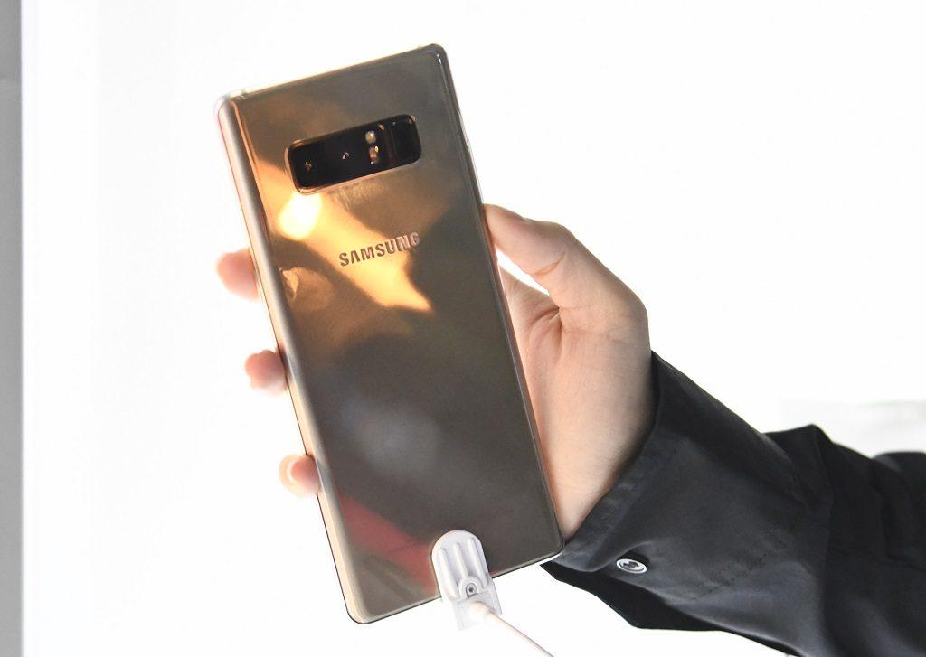 Samsung Galaxy Note8 - Dual Camera