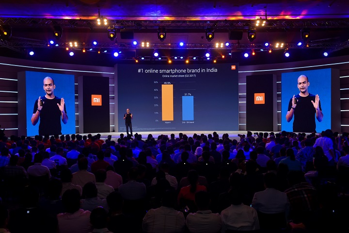 Launch of Mi A1- Delhi, India