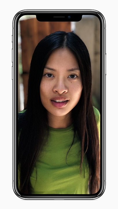 iPhone X camera_front_lighting