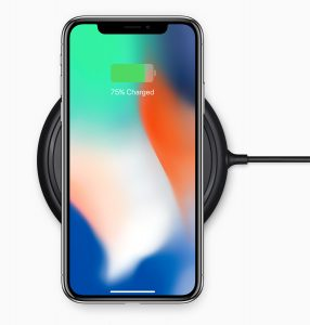 iPhone X-charging dock-front