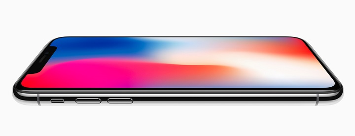 iPhone X-front-side-flat
