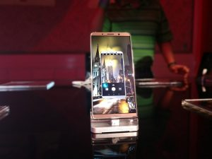 Huawei Mate 10 Pro displayed at the MEA Launch