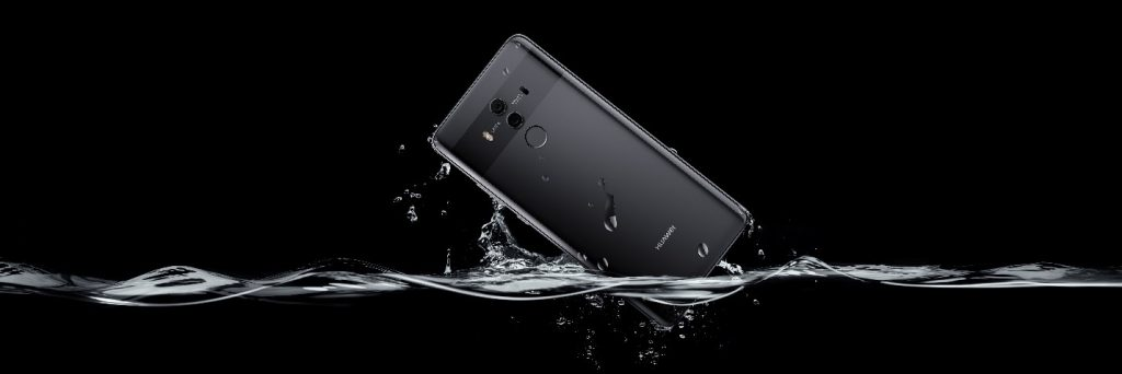 Huawei Mate Series is IP67 certified (Water and Dust resistant)