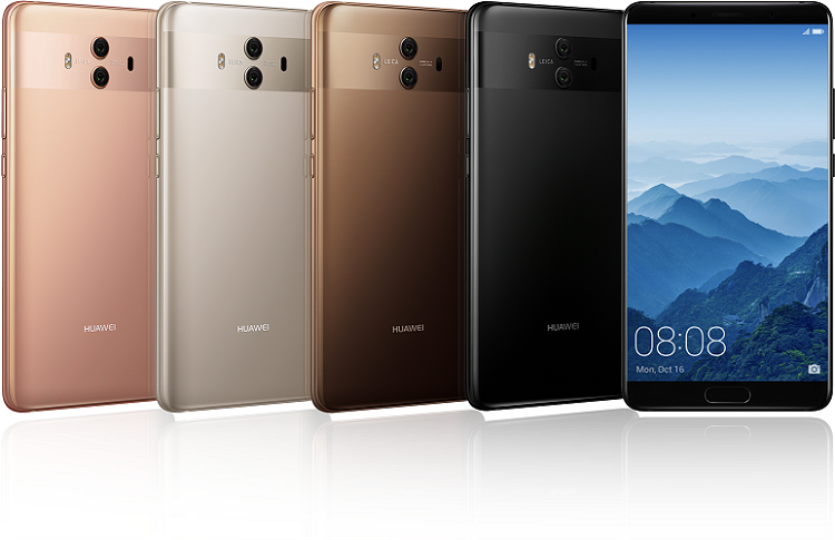 Huawei launches Mate 10 series in MEA region and the 1st smartphone  with Dubai Font