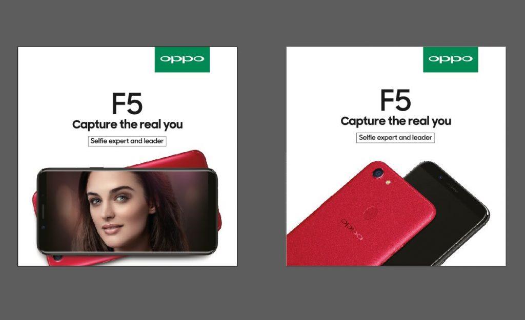OPPO F5 smartphone