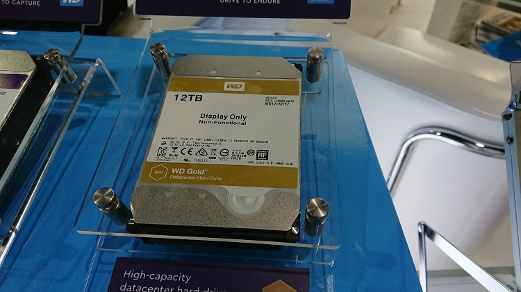 Western Digital - Gold Drive 12TB